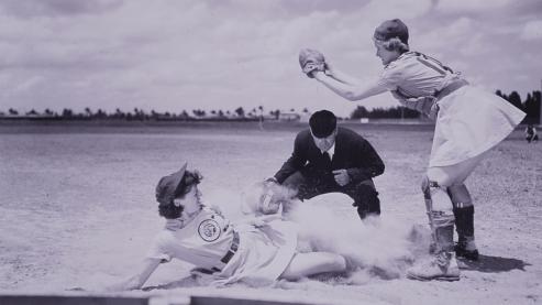 All american girls baseball cropped | Timeline
