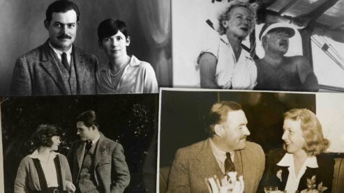Wives group image | Hemingway's Wives