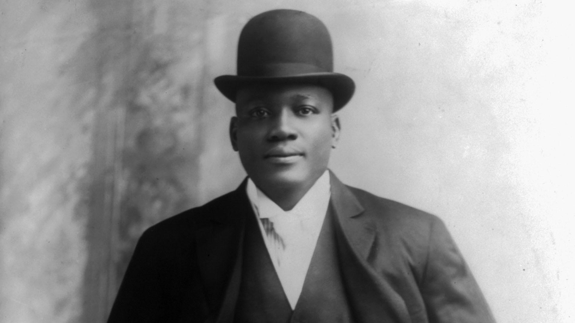 Jack Johnson in 1908