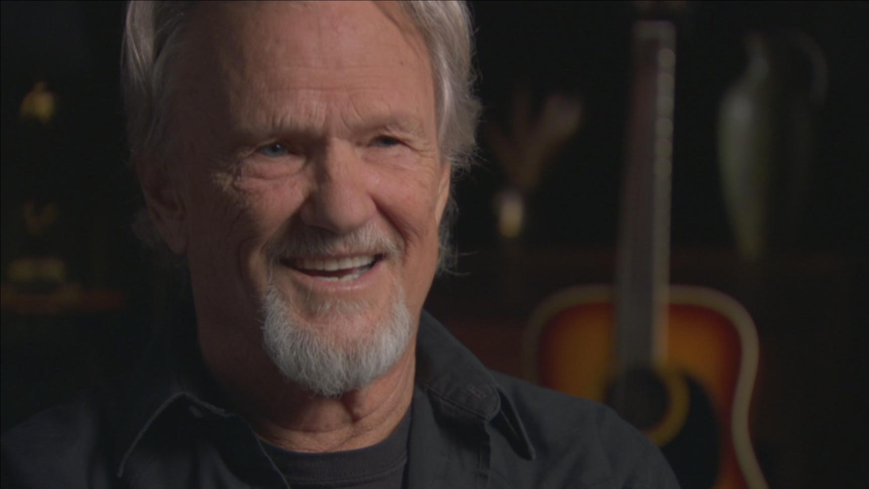 Closeup image of Kris Kristofferson
