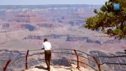 Mr. President Goes to Yellowstone