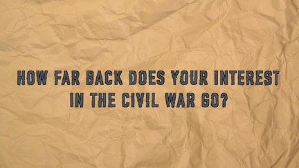 Q & A: Civil War Interest