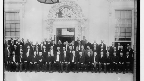Group Picture Of Governors At White House Conference Copyright Harris  Ewing 1908 Washington   Harris And Ewing Lccn2014680430   Declaration of the Conservation Conference of Governors (1908)