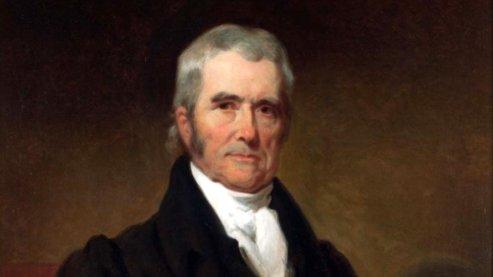 John Marshall By Henry Inman 1832   Cherokee Nation v. Georgia (1831)