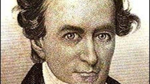 Stephen F.  Austin (1793-1836)   Stephen F. Austin in defense of Texas independence (1836)