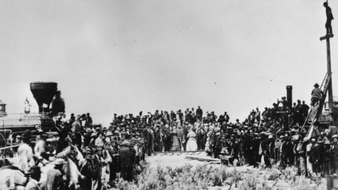 Golden Spike   The Pacific Railway Act (1862)